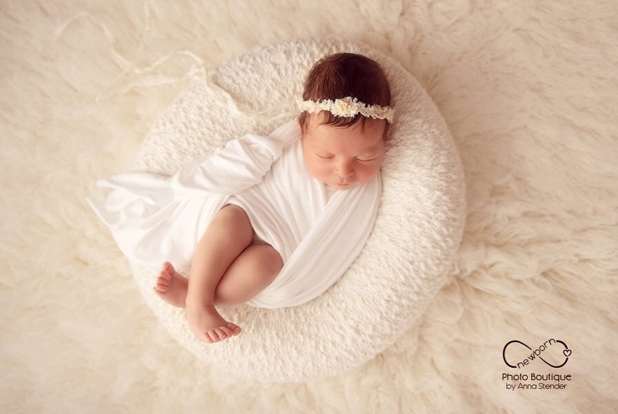newborn poser girl photography props