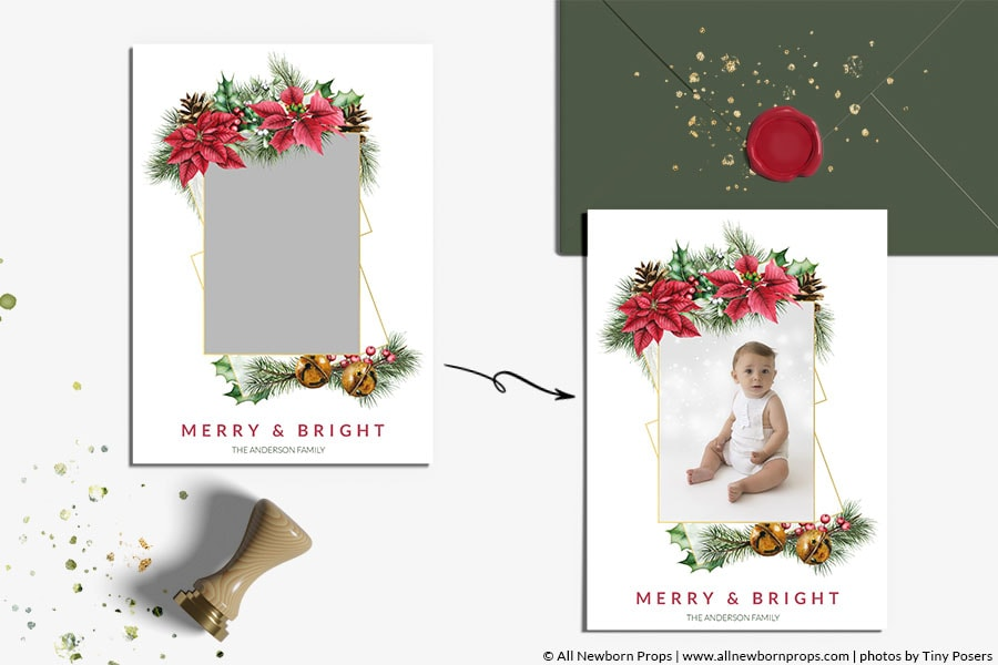 Christmas-Card-Photoshop-Template-Merry-Bright-photo-mask