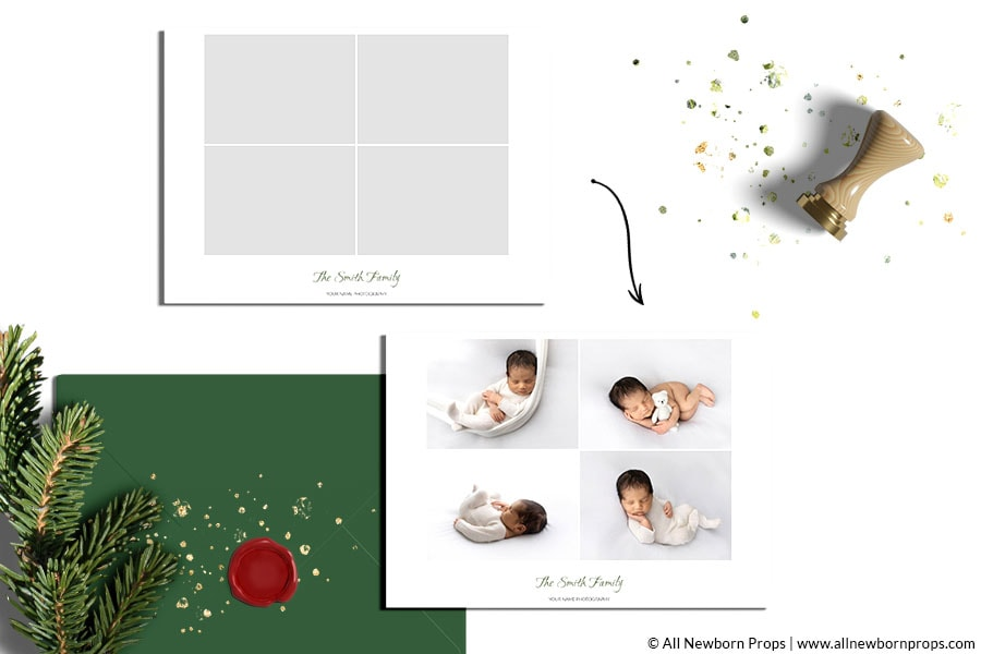 Christmas-Card-Templates-for-Photoshop-photo-gallery-holiday