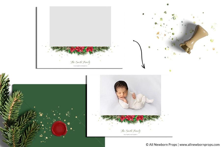 Christmas-Card-Templates-for-Photoshop-postcard-design