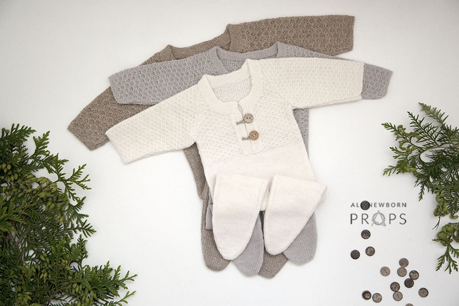 newborn-photography-outfits-knitted-sleepers-boy-girl-photoshoot-props-eu