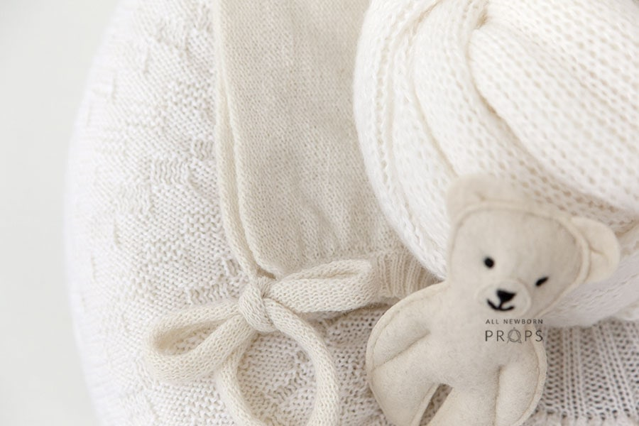 Newborn-baby-props-for-photography-posing-ring-wrap-hat-toy-europe-white