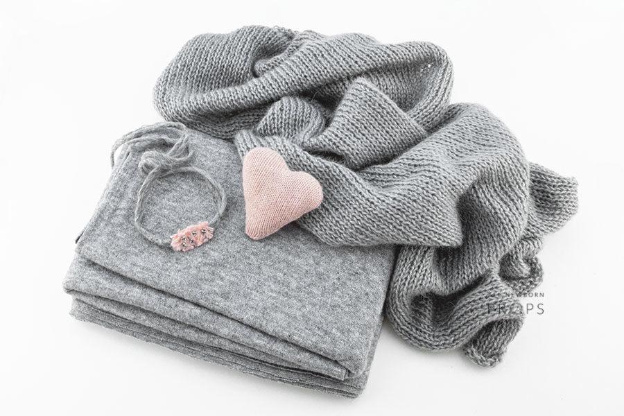 newborn-photoshoot-prop-set-beanbag-backdrop-wrap-headband-heart-eu